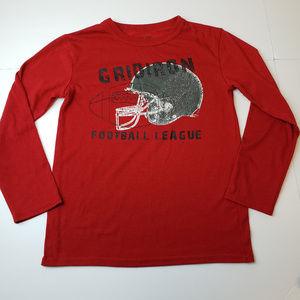 Cherokee Boys Long Sleeve T-Shirt Football Size M
